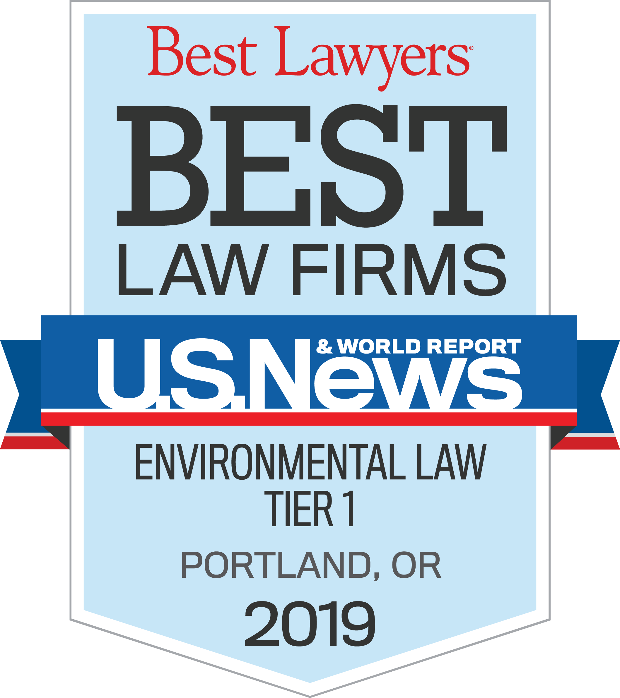 US News Best Lawyer Badge